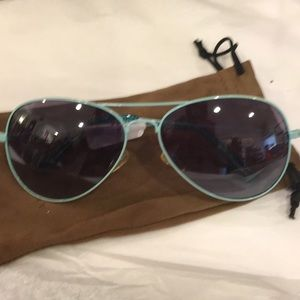 Cole Haan green Frame Sunglasses